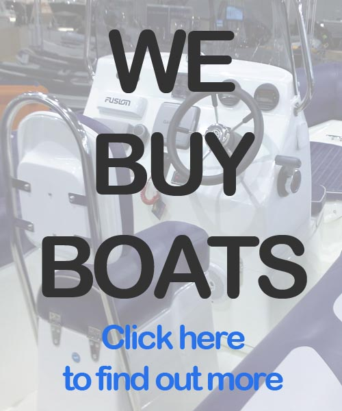 We buy boats